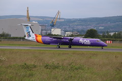 Flybe G-JECM BHD 09/07/19 (ethana23) Tags: planes planespotting aviation avgeek aeroplane aircraft airplane flybe bombardier dash8 q400 dehavilland dehavillandcanada
