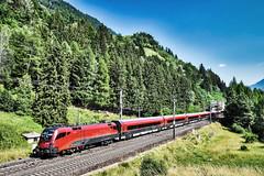 LAK_0159 (Hans-Peter Kurz) Tags: railway railroad reisen railscape eisenbahn zug train transport austria österreich outdoor penk zwenberg tauernbahn mölltal kärnten kbs220 öbb österreichische bundesbahnen railjet rj bahnhof haltestelle wendezug siemens br1116