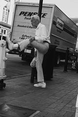 morning stretches (DNTV Photography) Tags: walk walking black white bw blackandwhite blackwhite monochrome sandiego san diego ca california morning stretching stretch canon eos low key lowkey mono 6d 50mm
