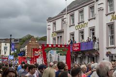 Durham Miners Gala (ca2cal) Tags: england countydurham durham durhamgala durhamminersgala miners miner gala demo people street band bigmeeting union banner website