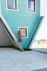 Brighton (Glennskitchen) Tags: brighton sexy mature model 50 leggy nikon d3 35mm