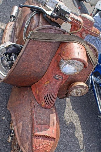 LD lambretta, Morecambe Scooter Rally 2019