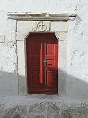 Mykonos #32 (jimsawthat) Tags: doors doorway church architecturaldetails island mykonos greece architecture aegeansea