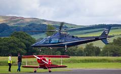 N109TK Agusta 109, Scone (wwshack) Tags: a109 agusta egpt psl perth perthkinross perthairport perthshire scone sconeairport scotland helicopter n109tk