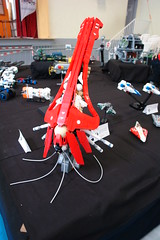 Ktulhu on display (Sydag) Tags: lego moc alien chtulhu scifi space ship spaceship