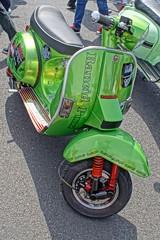 Rancid Scooter, Morecambe Scooter Rally 2019 (Gidzy) Tags: morecambe firstkick scooters scooterists lancashire vespaclubofgreatbritain morecamberidesagain 2019 vespa lambretta vintage summer seaside coast retro sony sonyuser sonyalpha sonya77ii sonyslt