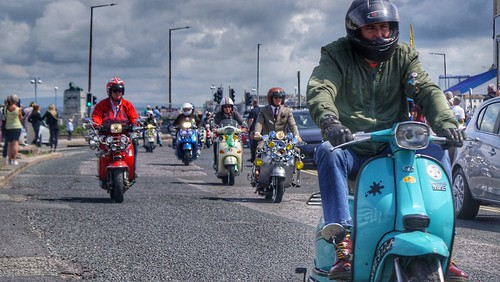 lambretta, Morecambe Scooter Rally 2019