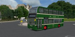 676's Heritage Livery in OMSI (timothyr673) Tags: nct nctomsi omsi bus simulator 676 yn05wfe heritagelivery nottinghamcitytransport