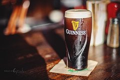 Self Titled (Images by April) Tags: guinness beer darkbeer stout irishbeer irish 50mmf14
