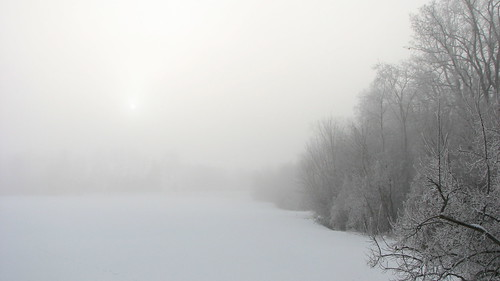 Hazy shade of winter ©  Егор Журавлёв