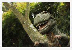 Hungry (Robert Drozda) Tags: portland oregon garden dinosaur drozda