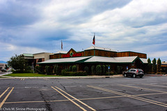 A Cloudy Texas Roadhouse (ChrisSirrine) Tags: university mall place orem utah scenic lake macys store closing
