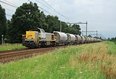 Lineas 7774-7782 @ Zwolle (Sicco Dierdorp) Tags: nmbs sncb lineas reeks77 dolime dolomiet nedmag veendam hermalle omleiding werkzaamheden zwolle ijssellijn wijhe deventer
