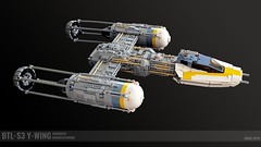 BTL-S3 Y-Wing Bomber (Jerac) Tags: lego starwars ywing starship starfighter spaceship