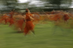 Kate Bush Day (annemcgr) Tags: katebush music healthcliff wutheringheights singer fairviewpark dublin reenactment icm intentionalcameramovement motion slowshutterspeed fineartphotography