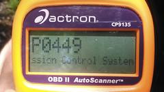 P0449 (blazer8696) Tags: kimg0015 control emmision evap evaporative malfunction solonoid valve vent brookfield connecticut unitedstates 2008 2019 chevrolet chevy code ct ecw error obtusehill p0449 t2019 trailblazer usa