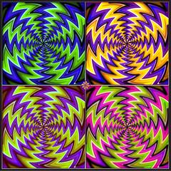 Rotation (lotharmeyer) Tags: colors rotation bewegung opart modern popart kunst lotharmeyer photografik kreis design collage dynamic grafik fotobearbeitung optischetäuschung