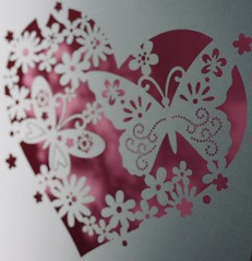 Paper heart (tanith.watkins) Tags: cutouts heart paper smileonsaturday