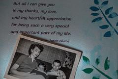 ~ 1955 Lots of paper! (Carol (vanhookc)) Tags: smileonsaturday picofpaper reading motherandchildren books read childrensliterature book photograph calendar 50s blackandwhitephotography jasonblume