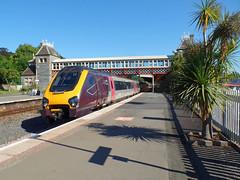 221132 Torquay (1) (Marky7890) Tags: xc 221132 class221 supervoyager 1v41 torquay railway devon rivieraline train