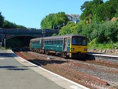 143619 Torquay (1) (Marky7890) Tags: gwr 143619 class143 pacer 2a57 torquay railway devon rivieraline train