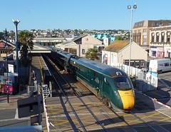 802110 Paignton (4) (Marky7890) Tags: gwr 802110 class802 iet 1a12 paignton railway devon rivieraline train