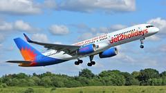 G-LSAC (AnDyMHoLdEn) Tags: jet2 757 egcc airport manchester manchesterairport 23l