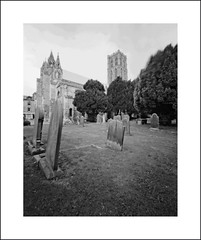 Howden Minster (oldeyes47) Tags: 4x5 fp4 ilford ilfosol blackandwhite howdenminster eastyorkshire largeformat zeroimage filmphotography pinholecamera withoutalens pinholephotography