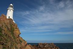 La Corbiere Lighthouse (timothyhart) Tags: jersey channelislands uk greatbritain island sea ocean leisure holiday sunshineisland july 2019 summer lacorbiere lighthouse