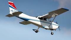 Cessna F172M Skyhawk HB-CDL Groupe de vol a moteur de Porrentruy (William Musculus) Tags: plane airplane spotting aviation airport william musculus basel mulhouse freiburg euroairport bsl mlh eap lfsb hbcdl cessna f172m skyhawk 172 c172