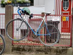 Fahrräder abstellen verboten (duesentrieb) Tags: bicycle braunschweig brunswick deutschland fahrrad fahrräderabstellenverboten fahrzeug fence germany lowersaxony niedersachsen parkingbicyclesprohibited prohibitionsign schild sign vehicle verbotsschild westlichesringgebiet zaun