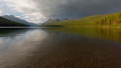 Sunset Nears at Bowman Lake (Ken Krach Photography) Tags: bowmanlake glaciernationalpark