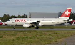 Swiss HB-IJH, OSL ENGM Gardermoen (Inger Bjørndal Foss) Tags: hbijh swiss airbus a320 osl engm gardermoen
