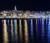 Lights in the water (picturesofalife) Tags: night reflections lights luces noche nikon catalunya costabrava reflejos d500 palamós nikond500 sigma1750mmf28os picturesofalife
