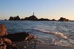 Sunset, La Corbiere Lighthouse (timothyhart) Tags: jersey channelislands uk greatbritain island sea ocean leisure holiday sunshineisland july 2019 summer