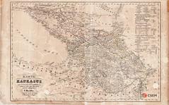 კავკასიის რუკა (csem_archives) Tags: caucasus georgia handke