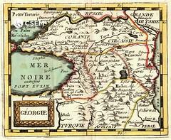 საქართველოს რუკა Georgia (csem_archives) Tags: georgie duval caucasus zuirie