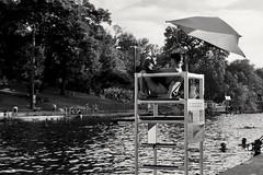 Lifeguard (RADfotoX) Tags: dogwood dogwoodweek21 dogwood2019 dogwood2019week21 dogwood52 dogwood52week21 serenity lifeguard pool black white monochrome swimming people