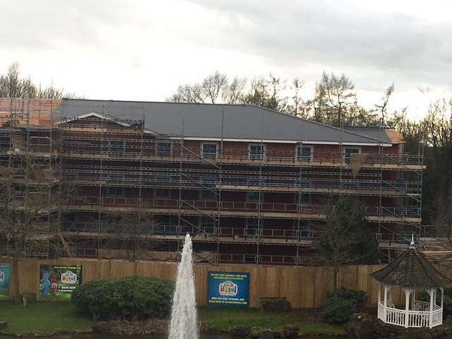 Cbeebies Land Hotel Construction