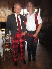 Gabriele and Sir John (cessna152towser) Tags: caprington kilmarnock cunningham tartantrews