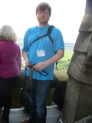 Up on the Monument (cessna152towser) Tags: stirling wallacemonument viewpoint scotland
