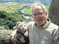David Pickens and Cuthbert Cunningham (cessna152towser) Tags: cuthbert rabbit stirling scotland wallacemonument