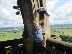 Made it to the Top (cessna152towser) Tags: stirling scotland wallacemonument shorts