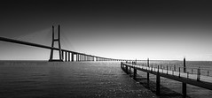 _DS16807 - Along the routes of Great Discoverers (AlexDROP) Tags: 2019 portugal lisboa lisbon europe art travel architecture bw bridge water panoramic wideangle nikond750 tamronaf1735mmf284diosda037 best iconic famous mustsee picturesque postcard geometry perspective