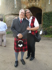 Gabriele and David (cessna152towser) Tags: caprington kilmarnock cunningham kilt