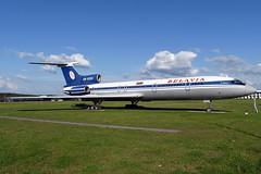 EW-85581 Former Belavia Tupolev Tu-154B2 Preserved at Minsk National Airport on 26 May 2019 (Zone 49 Photography) Tags: aircraft airliner aeroplane may 2019 minsk belarus national velikiydvor msq umms b2 bru belavia tupolev tu154 154 tu154b2 ew85581