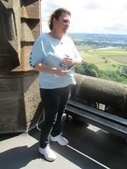 Admiring the View (cessna152towser) Tags: stirling scotland wallacemonument