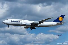 Lufthansa Boeing 747-830  |  D-ABYS  |  Frankfurt Rhein-Main  - EDDF (Melvin Debono) Tags: lufthansa boeing 747830 | dabys frankfurt rheinmain eddf 37843 melvin debono spotting spotters spotter canon plane planes photography airport airplane aircraft aviation germany deutschland fra