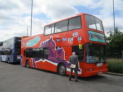 Dennis Trident - Bright Bus Tours - MXZ7652 (cessna152towser) Tags: glasgow plaxton president dennis trident opentopper
