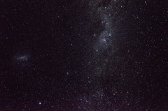 Huerquehue IV - Noches (gonvv) Tags: huerquehue noche estrellas via lactea nube magallanes